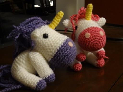 Unicorn pattern from Amigurumi Toy Box by Ana Paula Rimoli