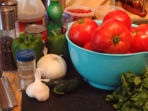Veggies and things.
